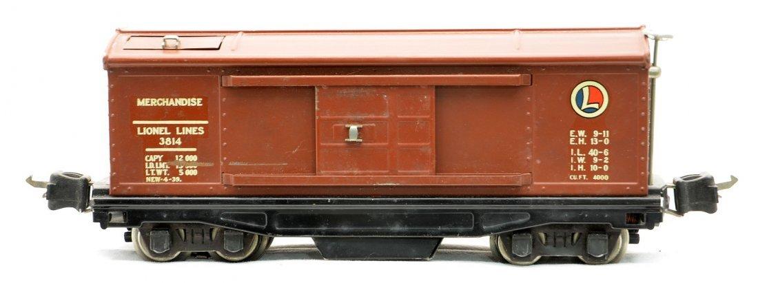 Lionel 3814 Operating Merchandise Car w/Decals