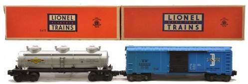 Lionel 6464-475 B&M Boxcar 6415 Sunoco MINT OB