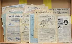 Lionel Selection Instruction Sheets SS Booklets