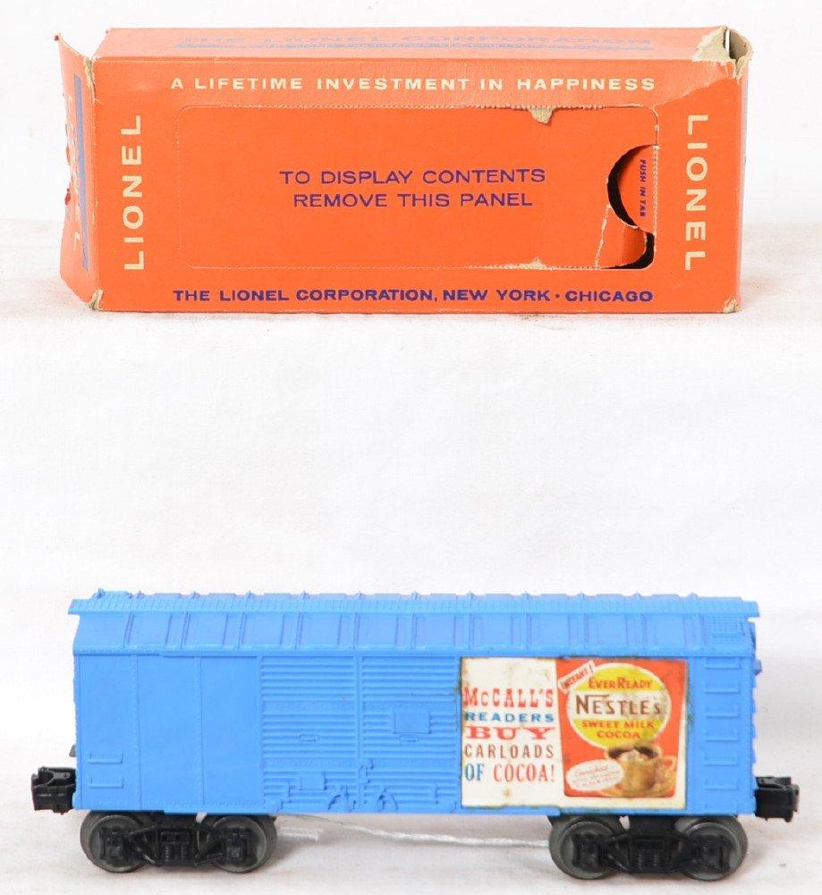 Rare Lionel 6044-1X Nestle McCalls boxcar in OB