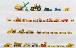 Huge grouping of diecast construction vehicles