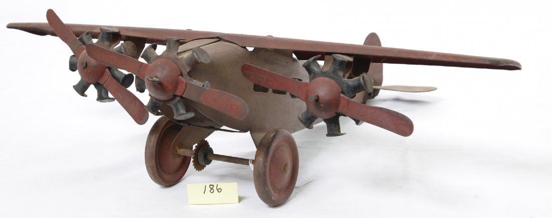 Steelcraft Tri Motor Army Scout Plane NX110