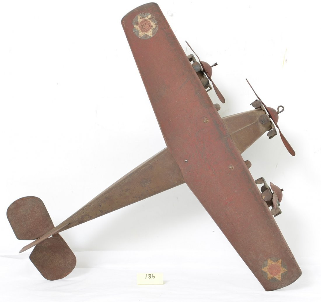 Steelcraft Tri Motor Army Scout Plane NX110 - 4