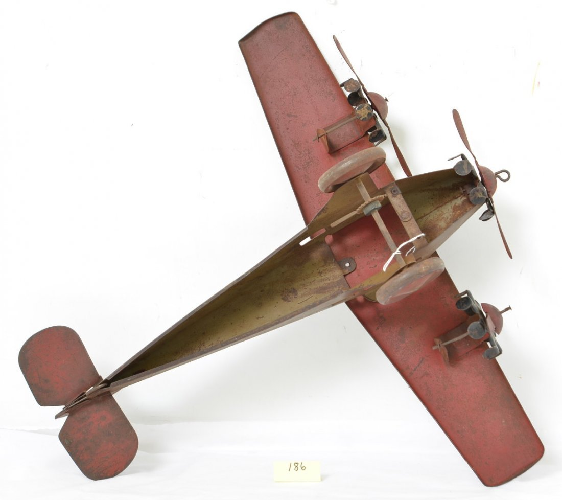 Steelcraft Tri Motor Army Scout Plane NX110 - 5