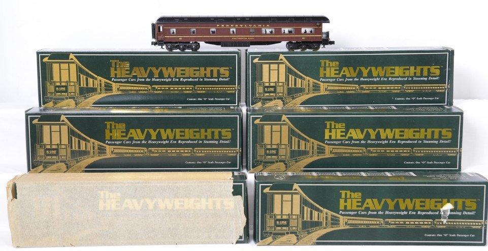 6 K Line Pennsylvania heavyweight passenger cars