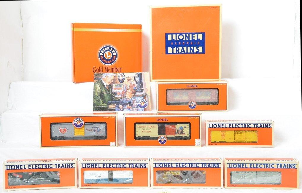 12 Lionel cars 52338, 39252, 19202, etc