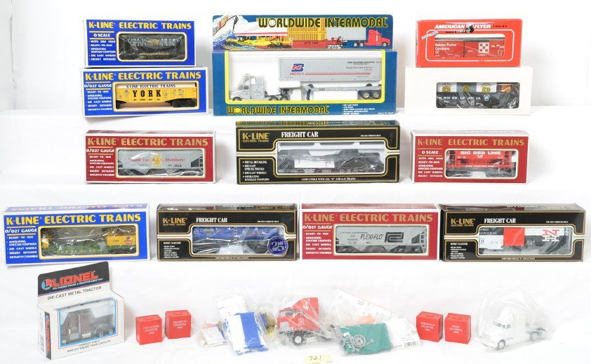 Group of TCA rolling stock, York items, and more