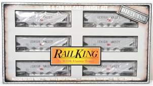 Railking Lehigh Valley die cast hopper six car set