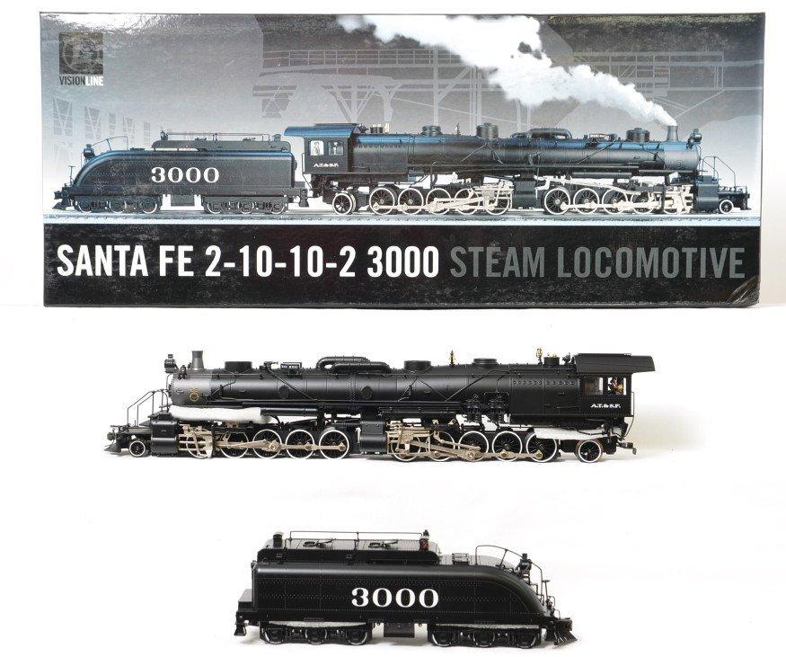 Lionel Vision line Santa Fe 2-10-10-2