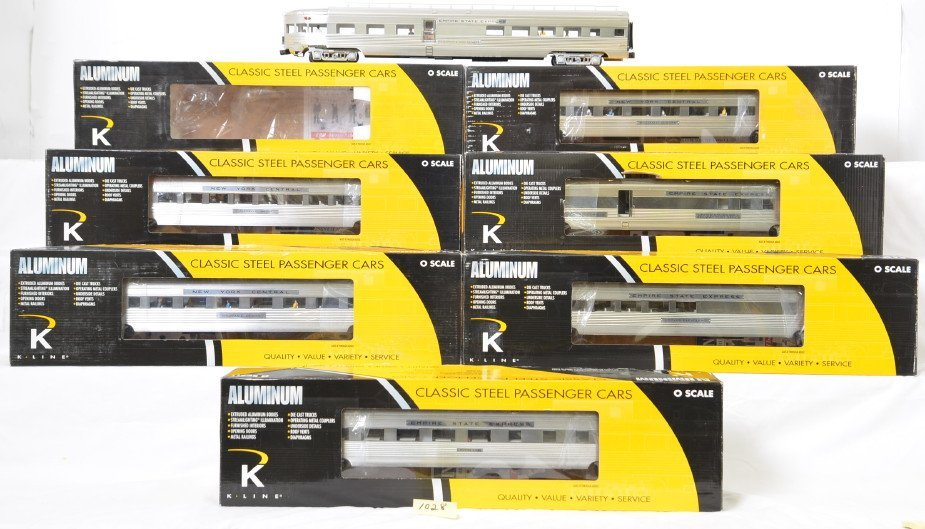 K-Line Empire State Express 7 car 21 inch passenger set