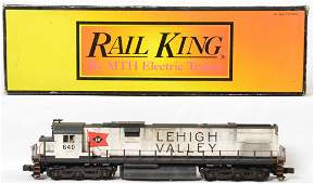 Railking weathered Lehigh Valley Alco C628 with Proto 2