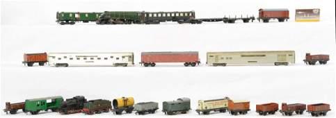 Marklin Trix Hornby HOOO steam locos freight