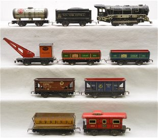 GREAT SUMMER TOY TRAIN AUCTION Prices - 567 Auction Price Results