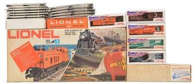 Lionel 1187 IC GP9 SSS Freight Set LIKE NEW OB