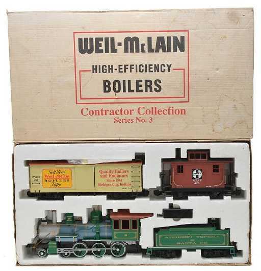Bachmann Big Haulers Weil McLain Train Set