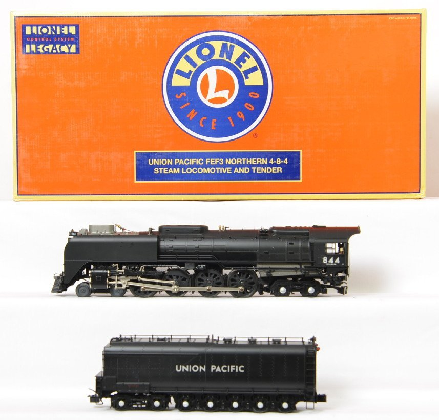 Lionel Union Pacific #844 Black 11131 with Legacy