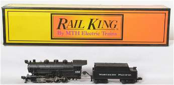 Railking Northern Pacific 0-8-0 switcher