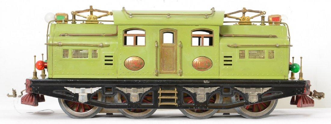 Lionel Prewar 408E Apple Green