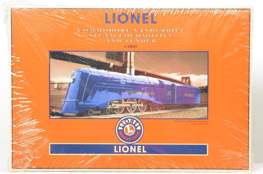 Lionel blue 28024 Commodore Vanderbilt sealed