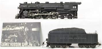 Lionel 700E scale Hudson & 700T New York Central tender