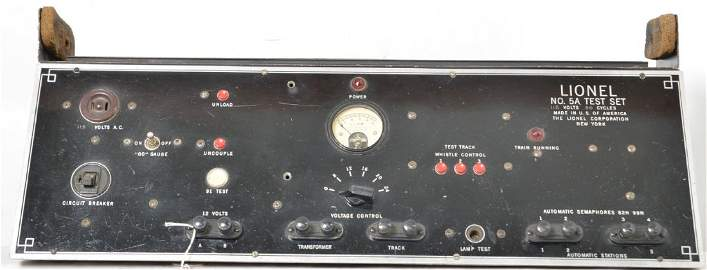 TRULY RARE Lionel 5A Dealer Service Station Test Set