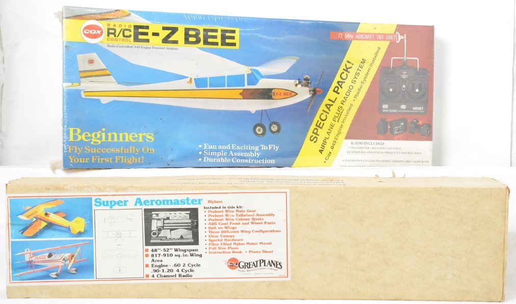 Great Planes Super Aeromaster & Cox EZ Bee MIB
