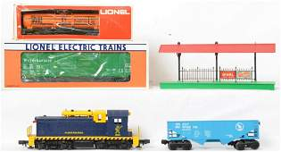 Small group of Lionel modern era items