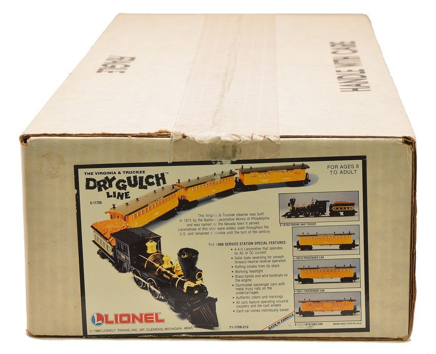 Lionel 11706 V&T Dry Gulch Factory Sealed Boxed