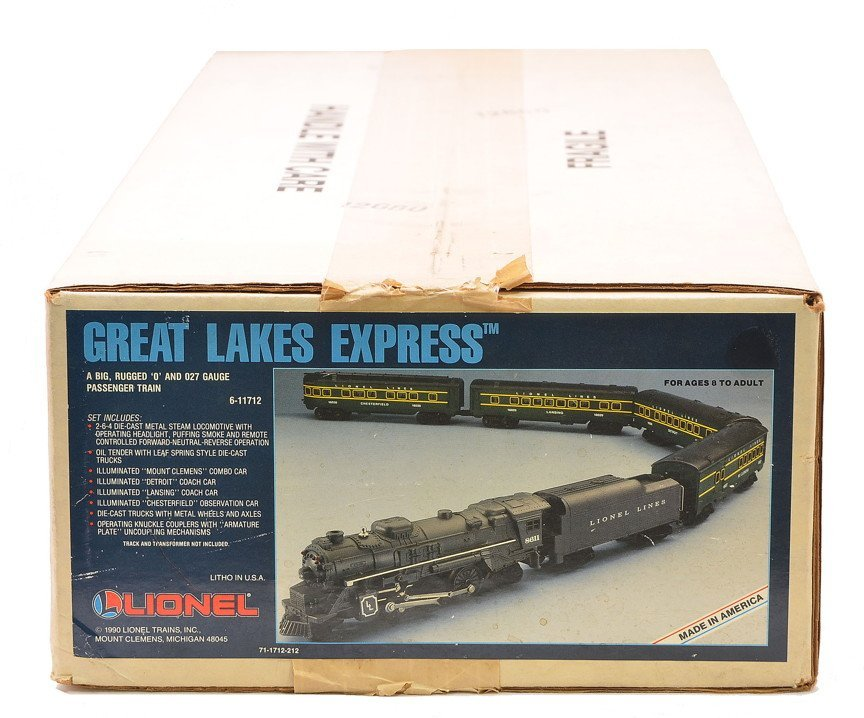 Lionel 11712 Great Lakes Set Factory Sealed Boxed