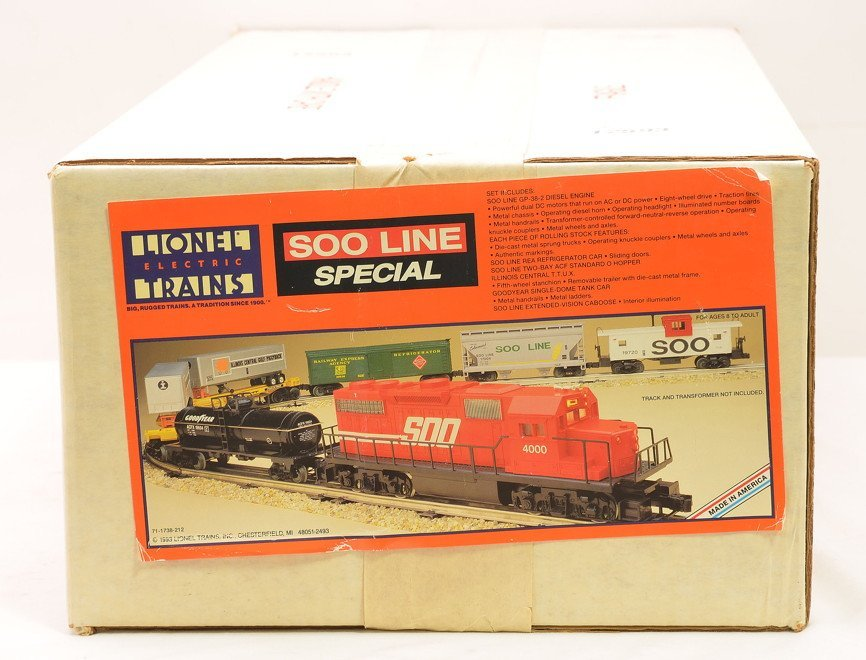Lionel 11738 Soo Line Set Factory Sealed Boxed