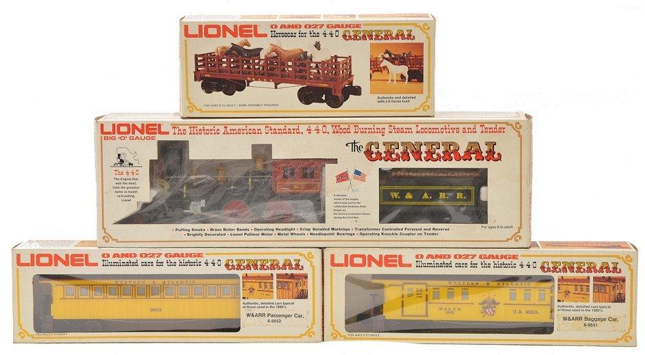 Lionel General Set 8701 9553 9551 9552 LN OBs