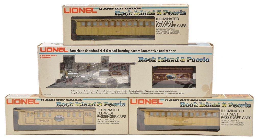 Lionel RI & Peoria General 8004 9559-9561 MINT OB