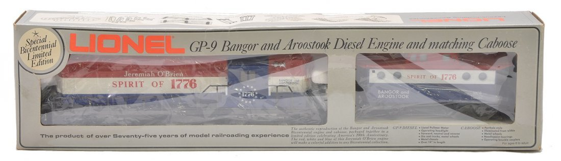 Lionel 8665 Bangor and Aroostook MINT Boxed