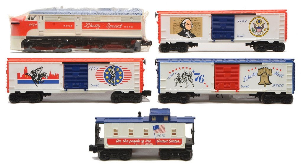 Lionel 1577 Liberty Special Freight Set LIKE NEW