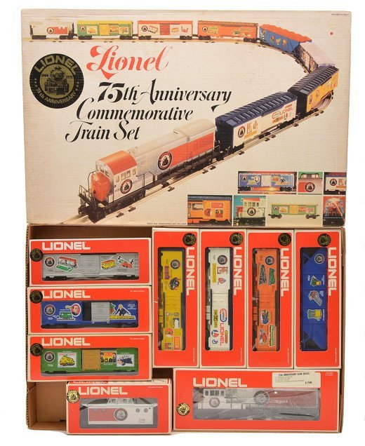 Lionel 1585 75th Anniversary Set LIKE NEW Boxed