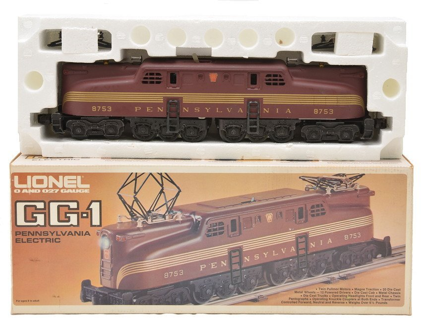 Lionel 8753 Pennsylvania GG1 Electric MINT Boxed