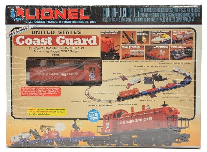 Lionel 11905 US Coast Guard Set Factory Sealed OB