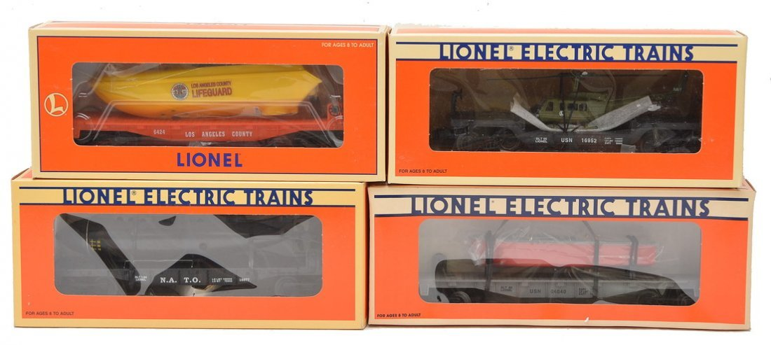 Lionel 16677 16939 16952 16970 MINT OBs
