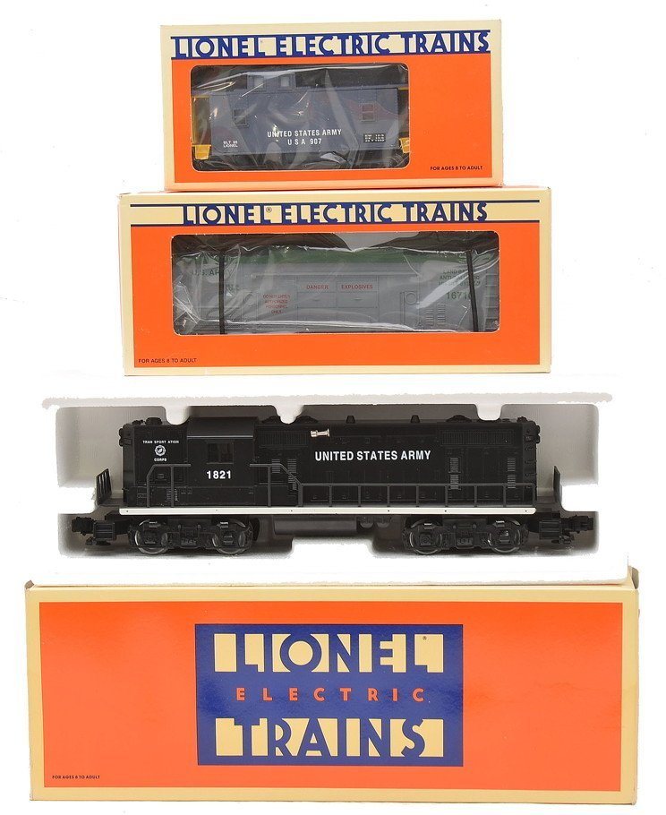 Lionel US Army 18840 16710 16566 MINT Boxed