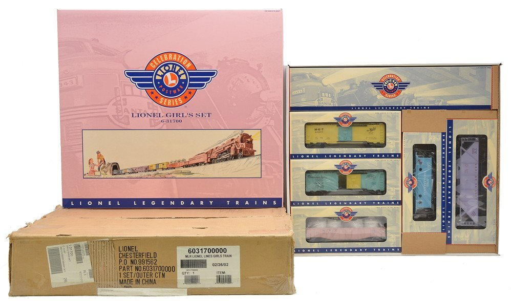 Lionel 31700 Girls Freight Set MINT Boxed