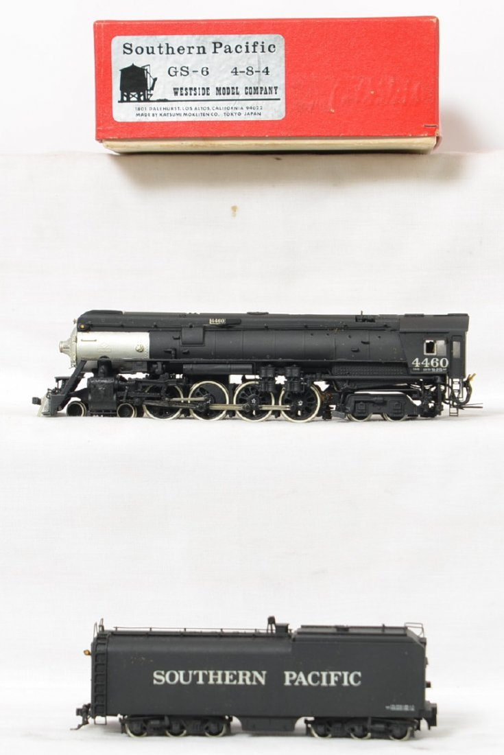 Westside Model Company Southern Pacific GS-6 brass