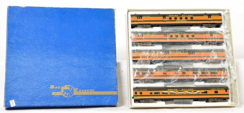 Balboa brass Great Northern 5 car Empire Builder set