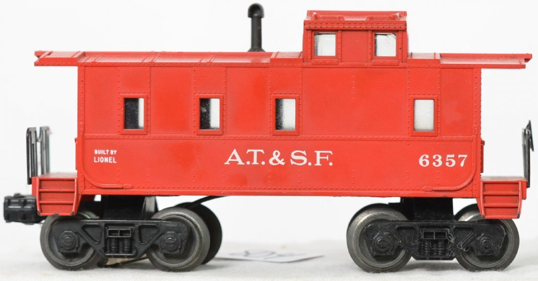 Desirable Lionel Postwar O 6357 A.T. & S.F. father &