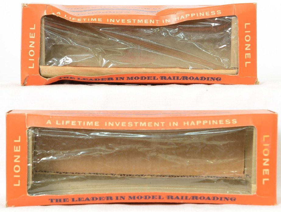 Two Lionel Postwar O gauge 6517-60 empty boxes only