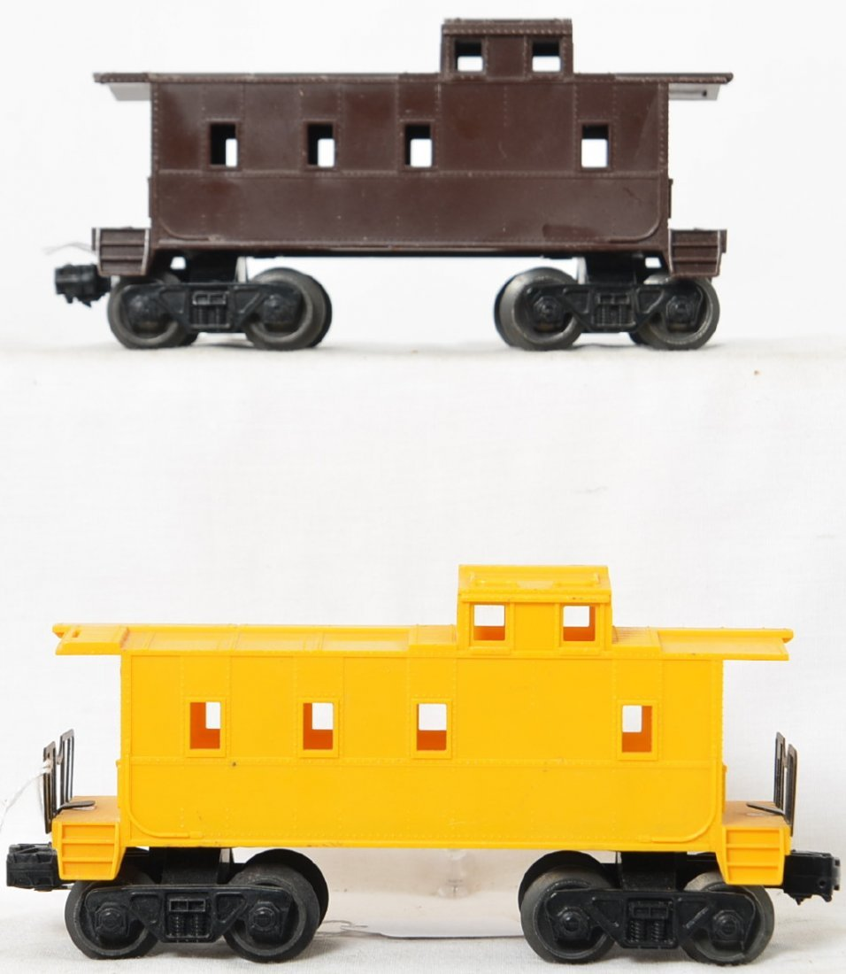 Lionel Postwar O gauge 6167 unmarked brown and yellow