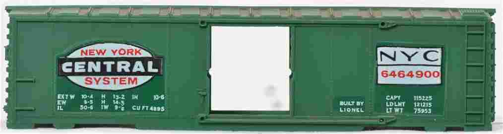Lionel 6464-900 boxcar production sample from the