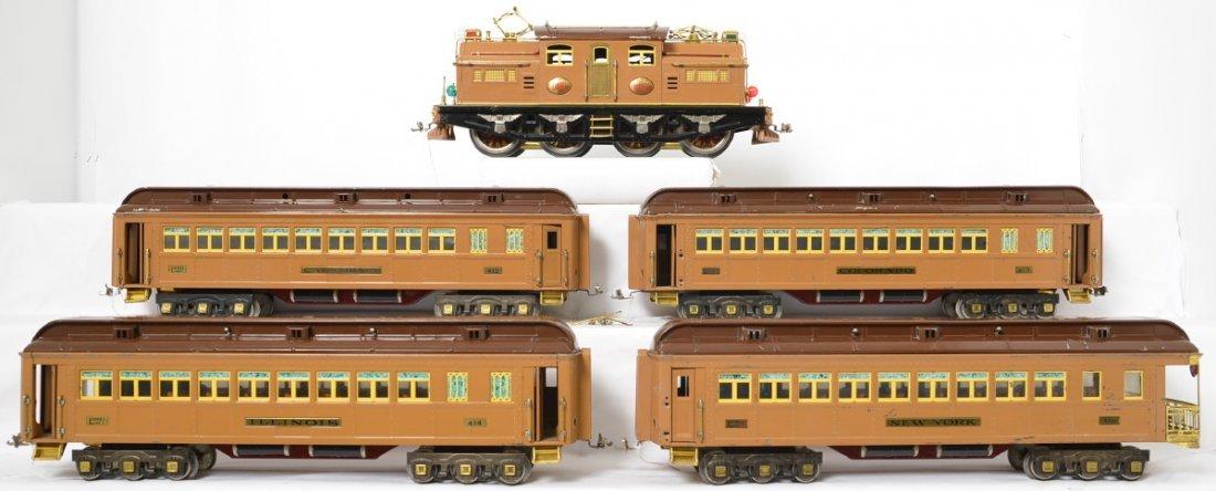 Lionel prewar standard gauge Brown State Set