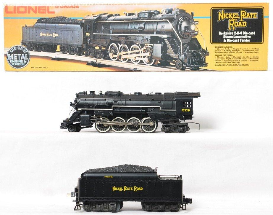 Lionel 8215 Nickel Plate Berkshire