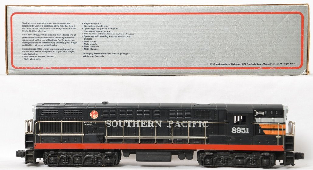 Lionel 8951 Southern Pacific FM Trainmaster - 2