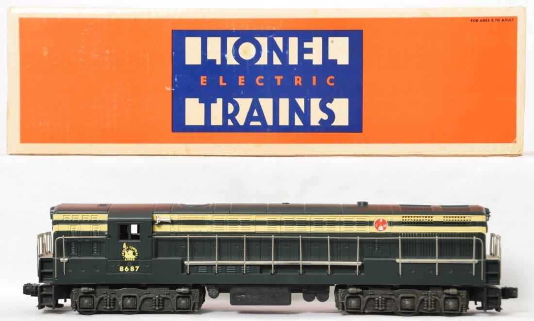 Lionel Jersey Central 8687 FM Trainmaster